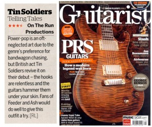 tin soldiers guitarist review