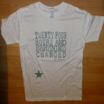 Mens 24 Hours T-Shirt in White